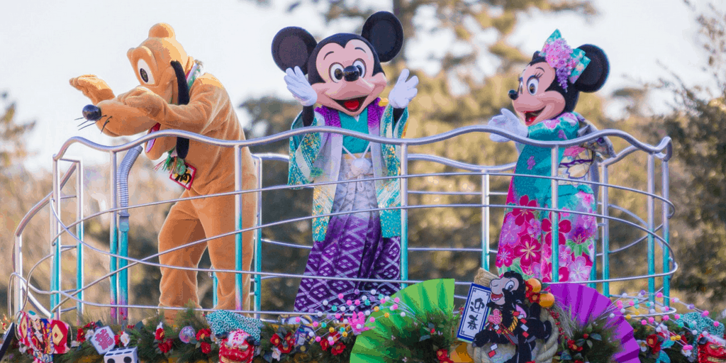 New Year's 2017 Program Details at Tokyo Disney Resort