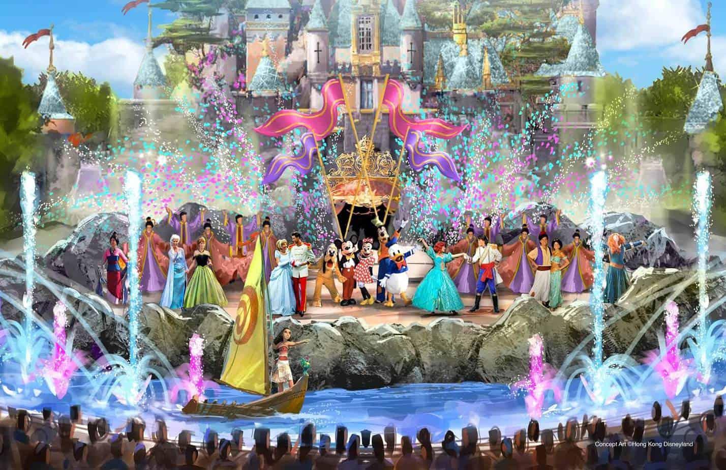 Hong Kong Disneyland Expansion Approved Tiket Hongkong Open Date Daytime Show