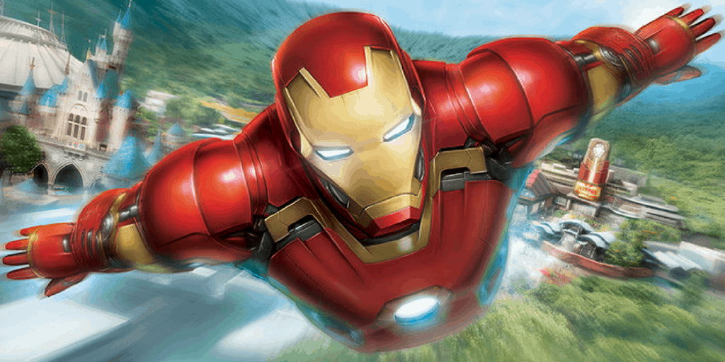 Iron Man Experience Opens January 2017 at Hong Kong Disneyland
