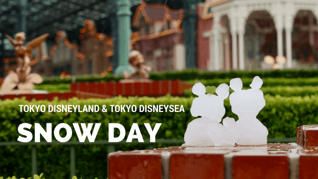VIDEO: Snow Day at Tokyo Disneyland