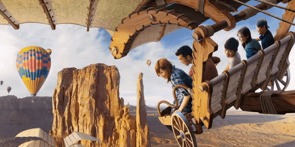 Construction of Soarin' at Tokyo DisneySea Begins