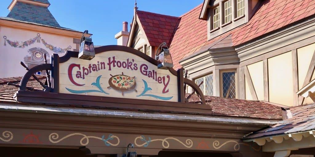 Captain Hook's Galley Review Tokyo Disneyland
