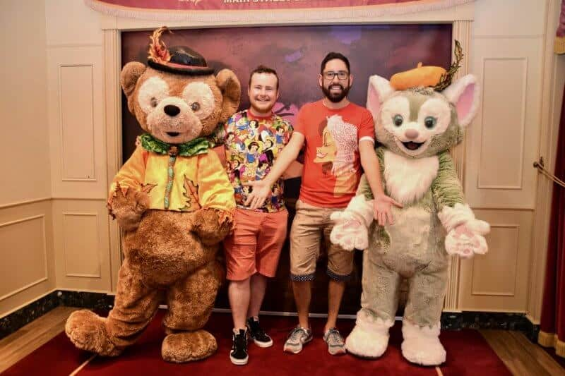 Duffy and Gelatoni Meet and Greet Hong Kong Disneyland