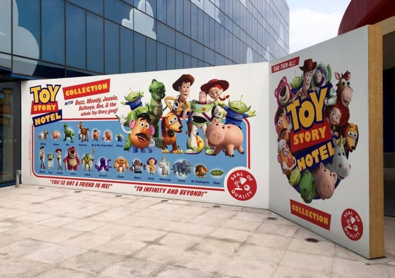Entrance Side Toy Story Hotel Shanghai Disneyland