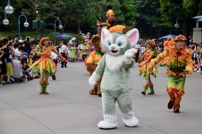 Gelatoni at Hong Kong Disneyland for Halloween