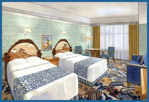 Disney Ambassador Hotel Stitch Room