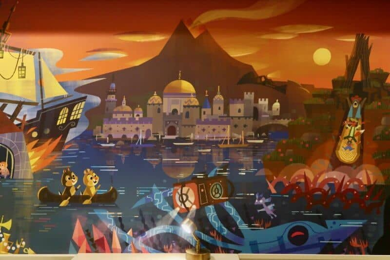 Tokyo Disney Celebration Hotel Discover Wall Mural
