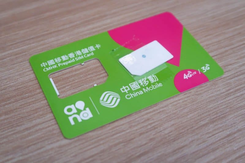 Hong Kong Sim Card Klook
