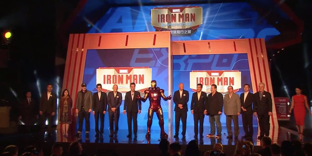 Iron Man Experience Opening Ceremony