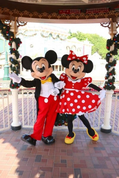 Mickey & Minnie New Faces Hong Kong Disneyland