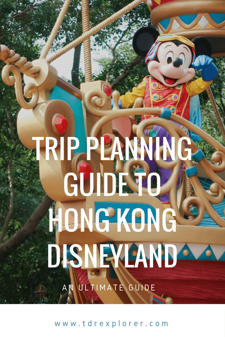 Ultimate Trip Planning Guide to Hong Kong Disneyland Pinterest
