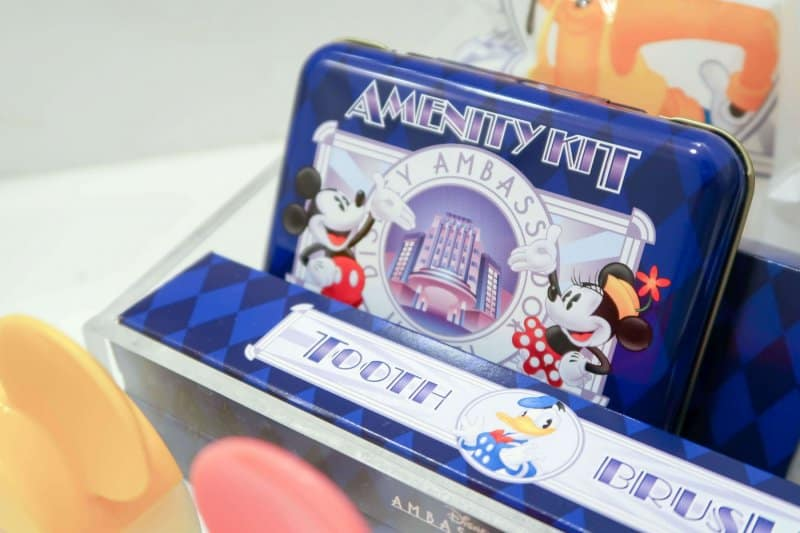 Amenity Kit Disney Ambassador Hotel Review Tokyo Disney Resort