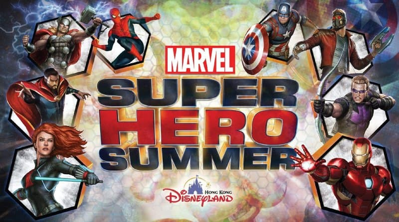 Hong Kong Disneyland Marvel Super Hero Summer