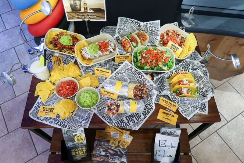 Plastic Food Display Above Guzman Y Gomez Ikspiari Review