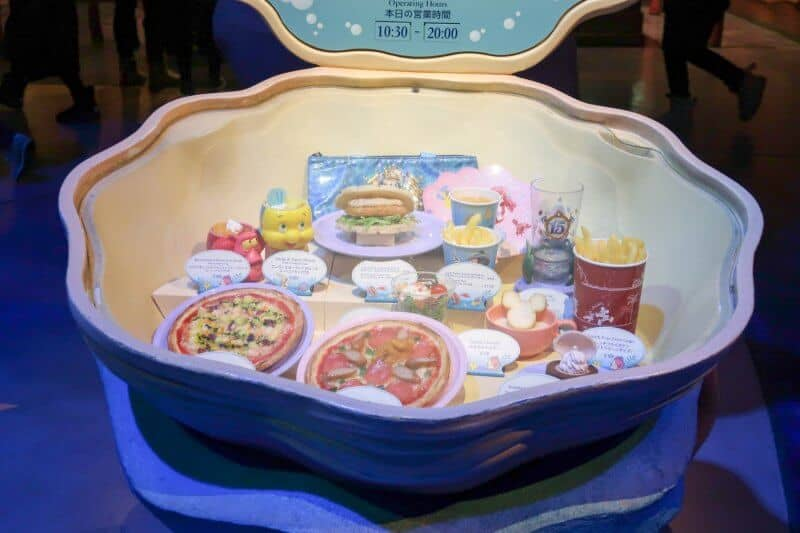Plastic Food Display Japan Sebastian's Calypso Kitchen Tokyo DisneySea