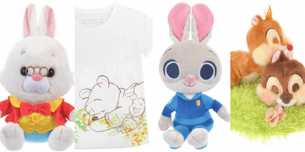 Disney Store Japan Easter & Spring Merchandise March 2017