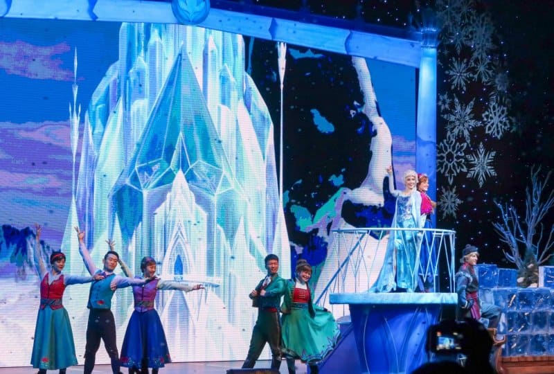 Frozen A Sing-Along Celebration Shanghai Disneyland