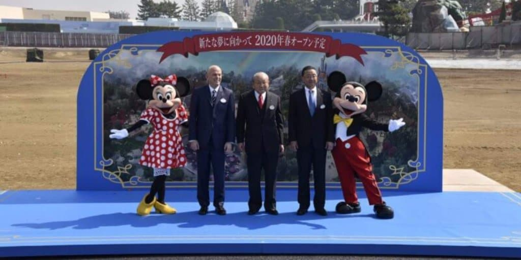 Groundbreaking Ceremony Launches New Tokyo Disneyland Development