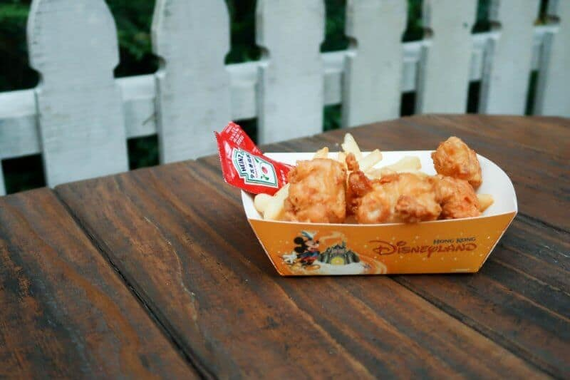 Chicken Nuggets Fries Lucky Nugget Hong Kong Disneyland