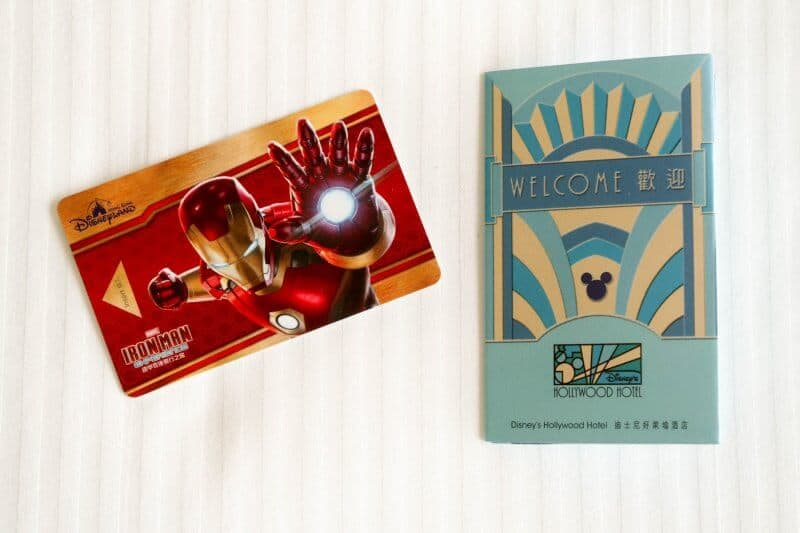Hong Kong Disneyland Disney's Hollywood Hotel Iron Man Key Card