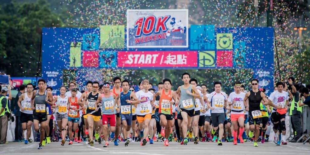 Marvel 10K Weekend 2017 at Hong Kong Disneyland this September