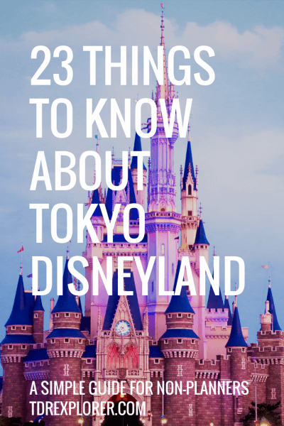 23 Things to Know About Tokyo Disneyland Pinterest