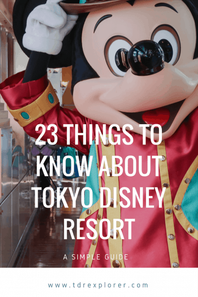23 Things to Know Before Your Visit to Tokyo Disney Resort Pinterest
