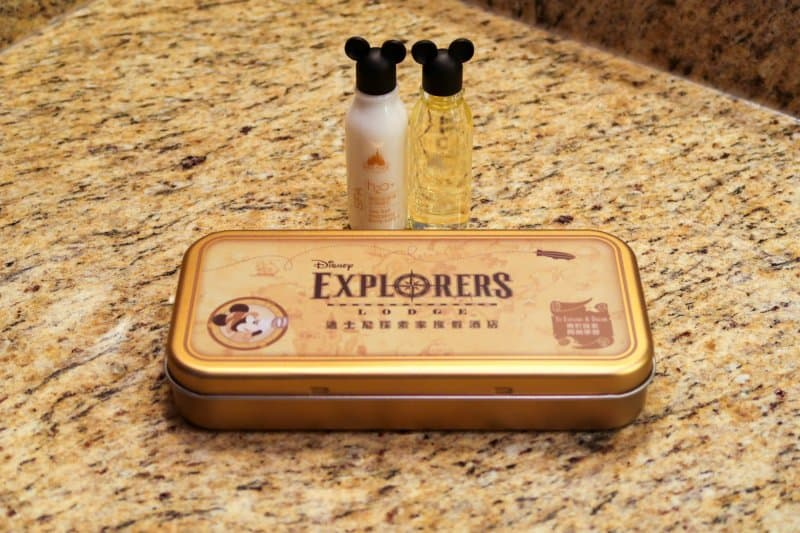 Amenities Kit Disney Explorers Lodge Hong Kong Disneyland