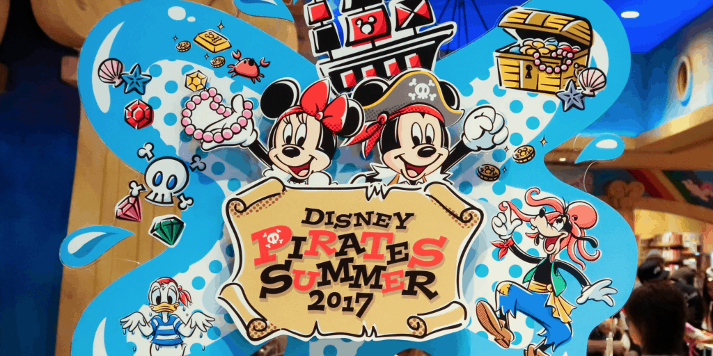 Disney Pirates Summer 2017 Merchandise & Food Update for Tokyo DisneySea