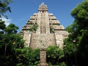 Indiana Jones Adventure Temple at Tokyo DisneySea