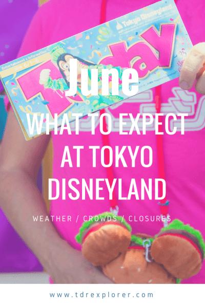 June Tokyo Disney Resort Pinterest