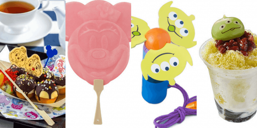 Tokyo Disney Resort Summer 2017 Merchandise and Food Update