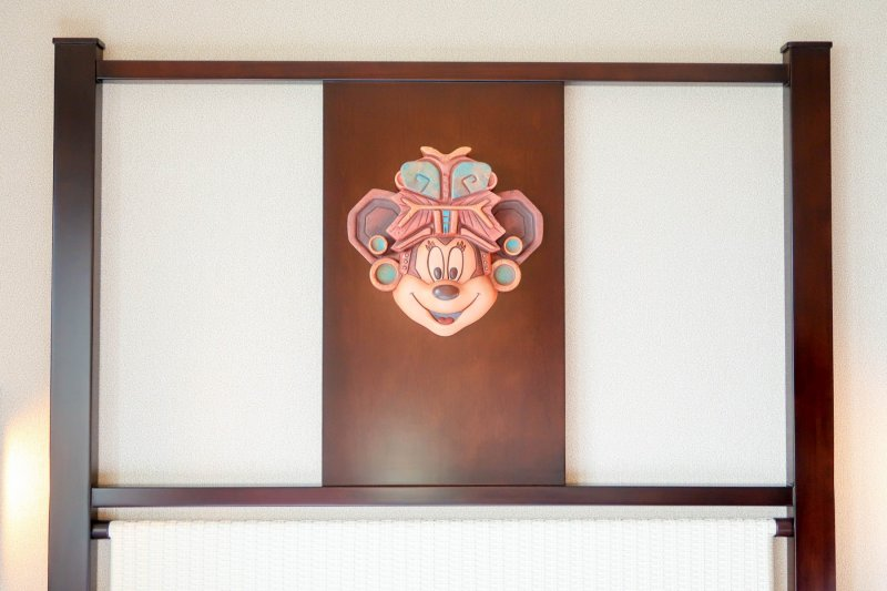 Minnie Mouse Headboard Disney Explorers Lodge Hong Kong Disneyland