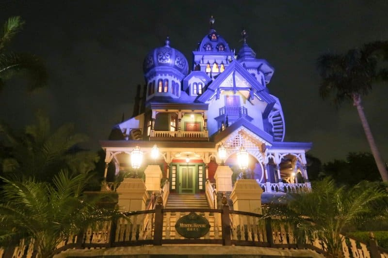Mystic Manor Night Hong Kong Disneyland