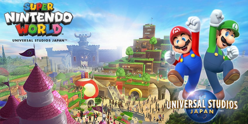 Super Nintendo World Construction Starts at Universal Studios Japan