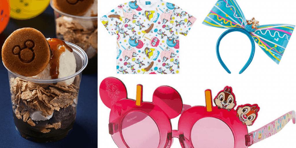 Tokyo Disneyland Disney's Summer Festival 2017 Merchandise Food