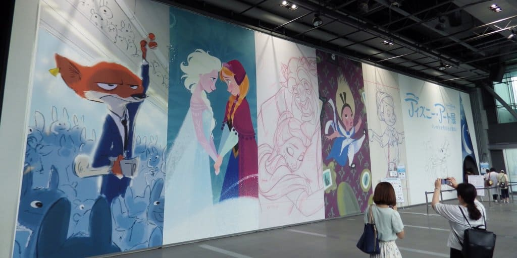 "Characters Come to Life at ""The Art of Disney"" Exhibit"