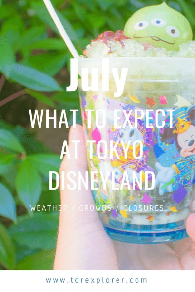 What to expect at Tokyo Disneyland for the month of July