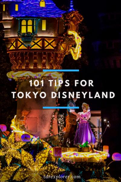 101 Tips for Tokyo Disneyland Pinterest Alt