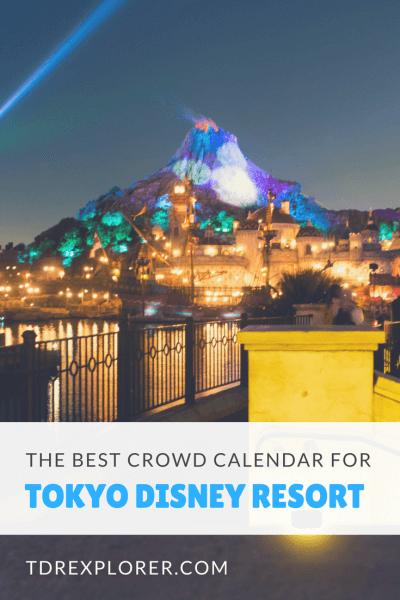 Crowd Calendar Tokyo Disneyland Pinterest