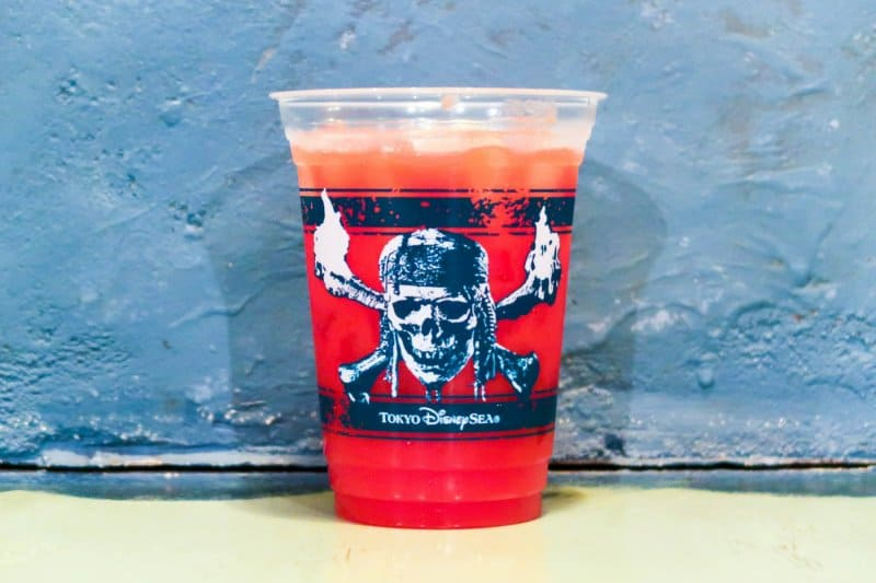 Disney Pirates Summer Tokyo DisneySea Tequila and Tomato Drink