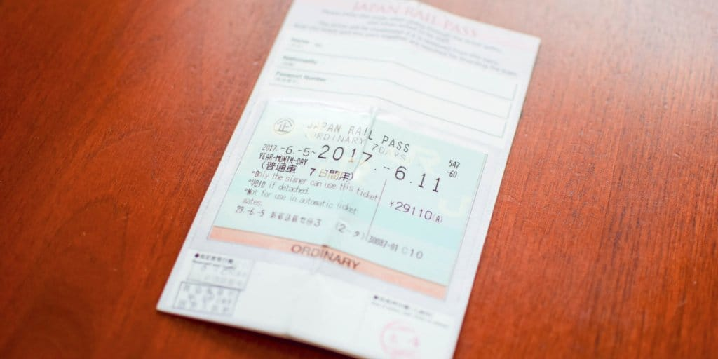 Japan Rail Pass for Tokyo Disneyland & Universal Studios Japan