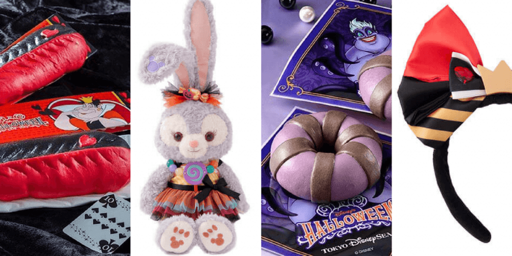 Tokyo DisneySea Halloween 2017 Merchandise and Food Update