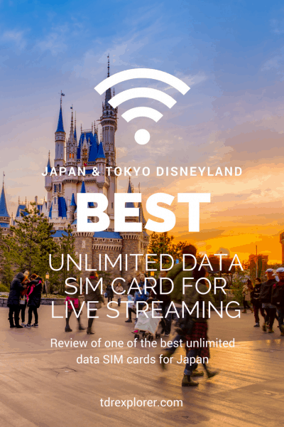 Mobal Japan Unlimited SIM Card Review Pinterest