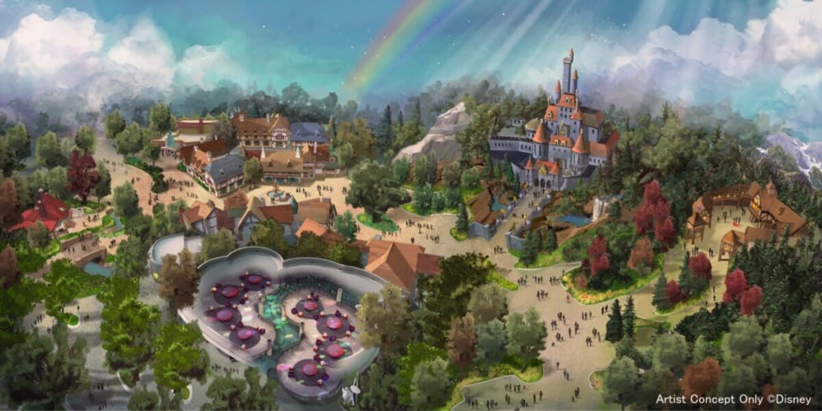 New Beauty and the Beast Attraction Opening Spring 2020 at Tokyo Disneyland