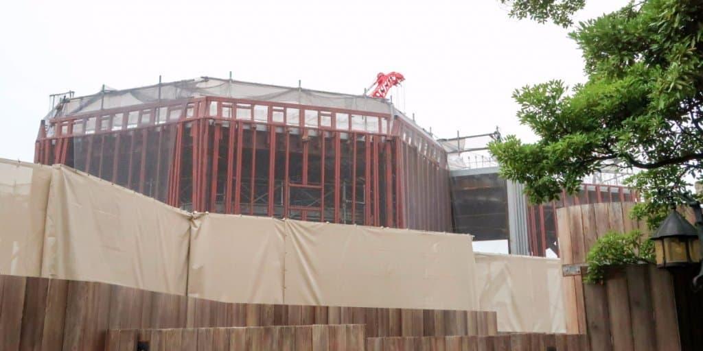 Soarin' Construction Photos Update at Tokyo DisneySea