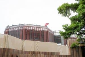 Soarin Construction Tokyo DisneySea Summer 2017 Building