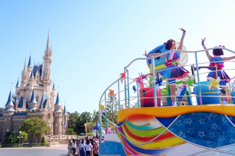 Tokyo Disneyland Natsu Matsuri Sansui Summer Beat