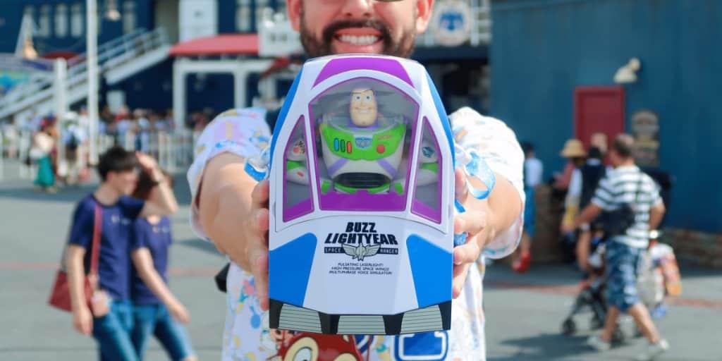 Win a Buzz Lightyear Popcorn Bucket