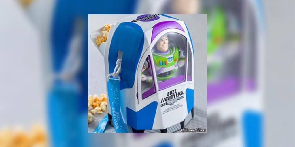 New Buzz Lightyear Popcorn Bucket at Tokyo DisneySea